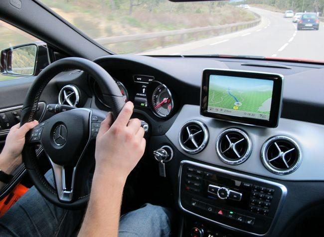 Oem Mercedes A B Cla Navigation Unit With Big Touch