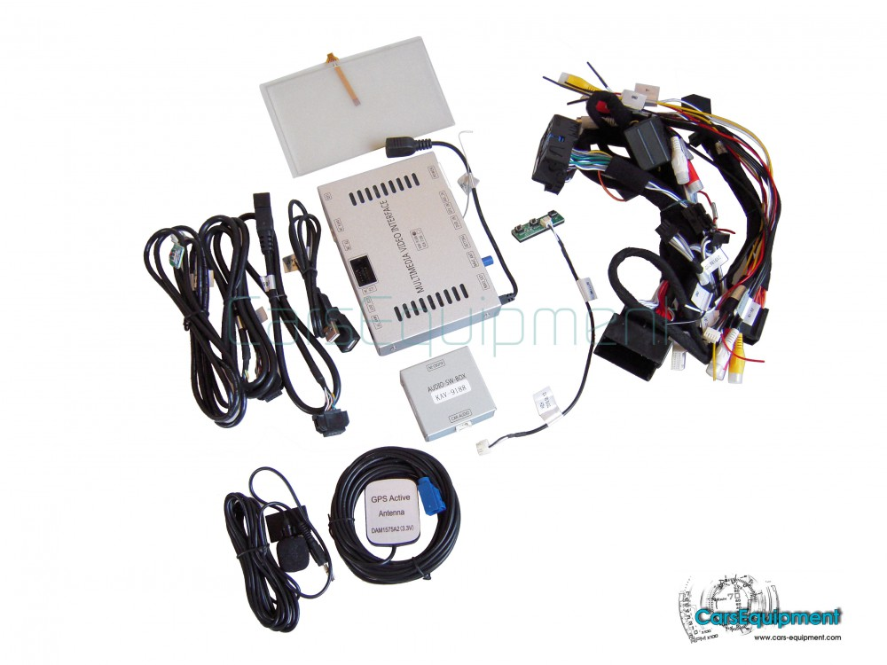 Navigation System with Touch Screen for Audi A4, A5, Q5