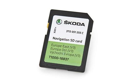 Skoda Amundsen Sd Karte.Oem 3t0051255c Sd Card For Octavia 3 Amundsen Navigation System
