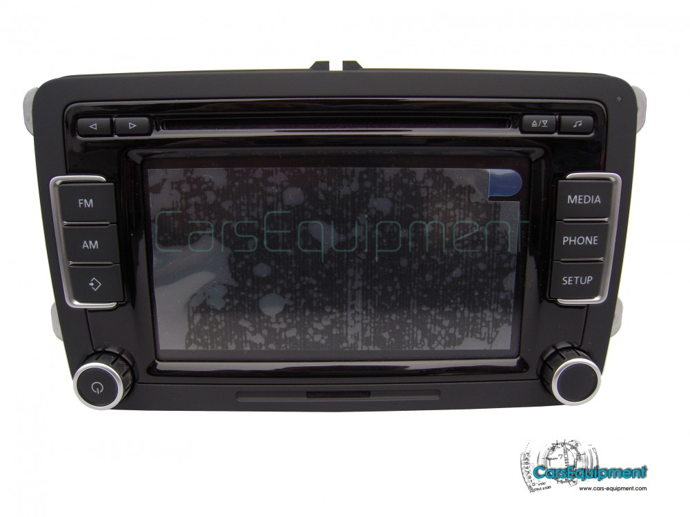 oem 5k0035190b vw car radio rcd510/bolero - bosch for 299.00 € - Škoda, Wiring diagram