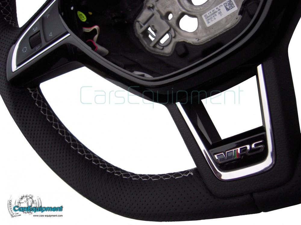 Oem Flat Bottom Vrs Mfsw Steering Wheel For Skoda Octavia