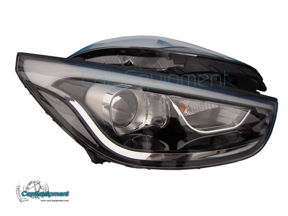 oem bi xenon head lights for hyundai tuscon ix35 for 350. Black Bedroom Furniture Sets. Home Design Ideas