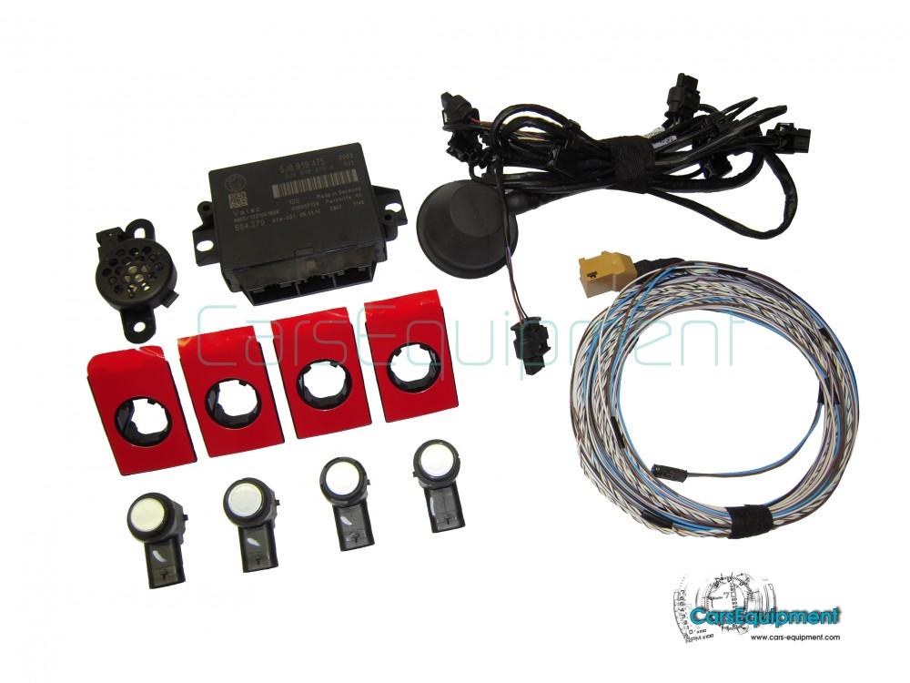 oem ops pdc for vw polo 6r rear optic parking sensor system for rh cars equipment com Opel Corsa VW GTI
