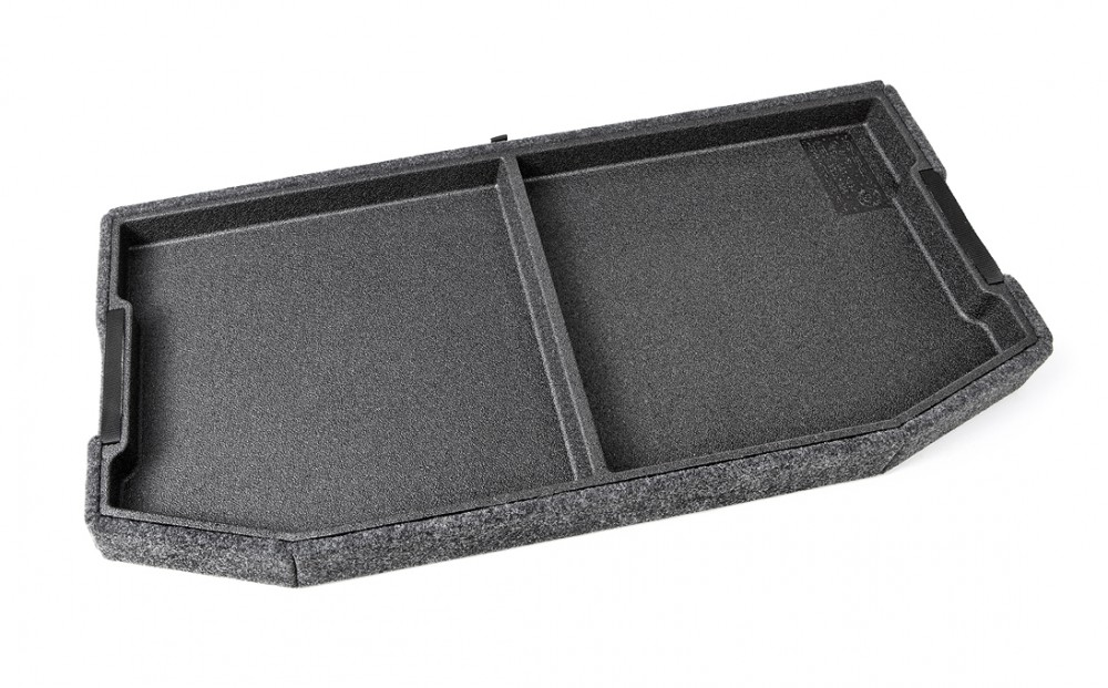Multifunctional box under the rear tray for Octavia Limousine III 5E5061109