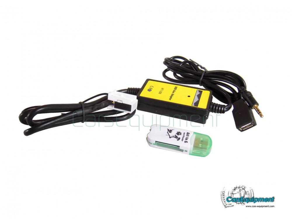 Digital Music CD Interface - Quadlock 12PIN - VW, Audi, Seat