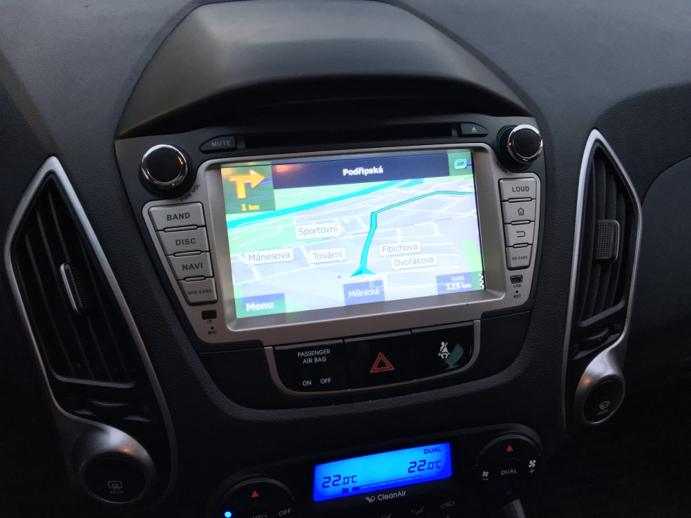 7 Inch 2 Din Car Stereo Dvd Player For Hyundai Tuscon Ix35