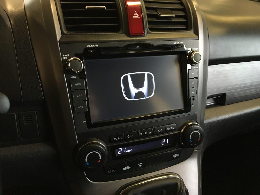 Navigation Radio For Honda Crv Cr V 8inch Touch Screen