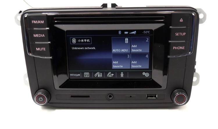 OEM RCD330 VW Touch Screen Radio - High Version with Bluetooth