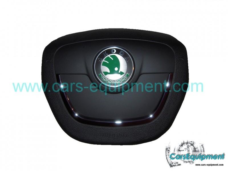 oem driver's 1z0880201ah airbag, skoda octavia, superb, fabia, roomster,  yeti
