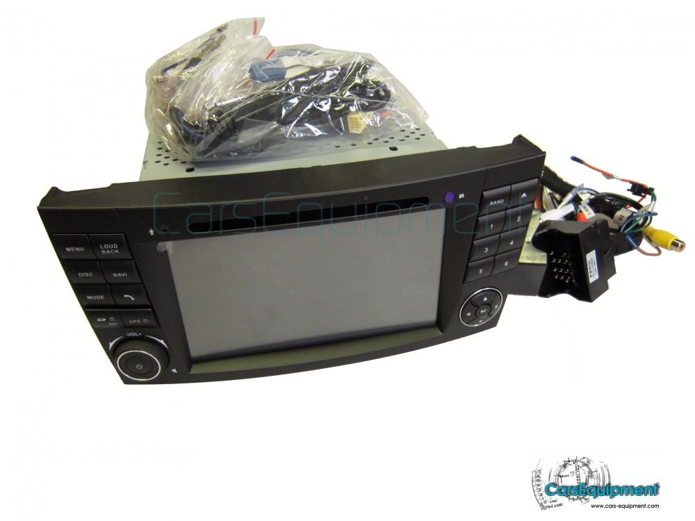 7Inch Touch Screen RDS Navigation for Mercedes/Benz/E-Class