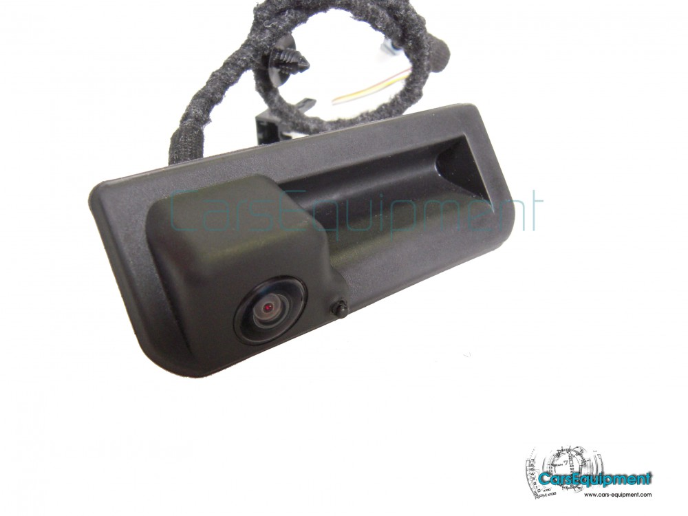 oem 6v0827566g rvc rear view camera kit with washer for