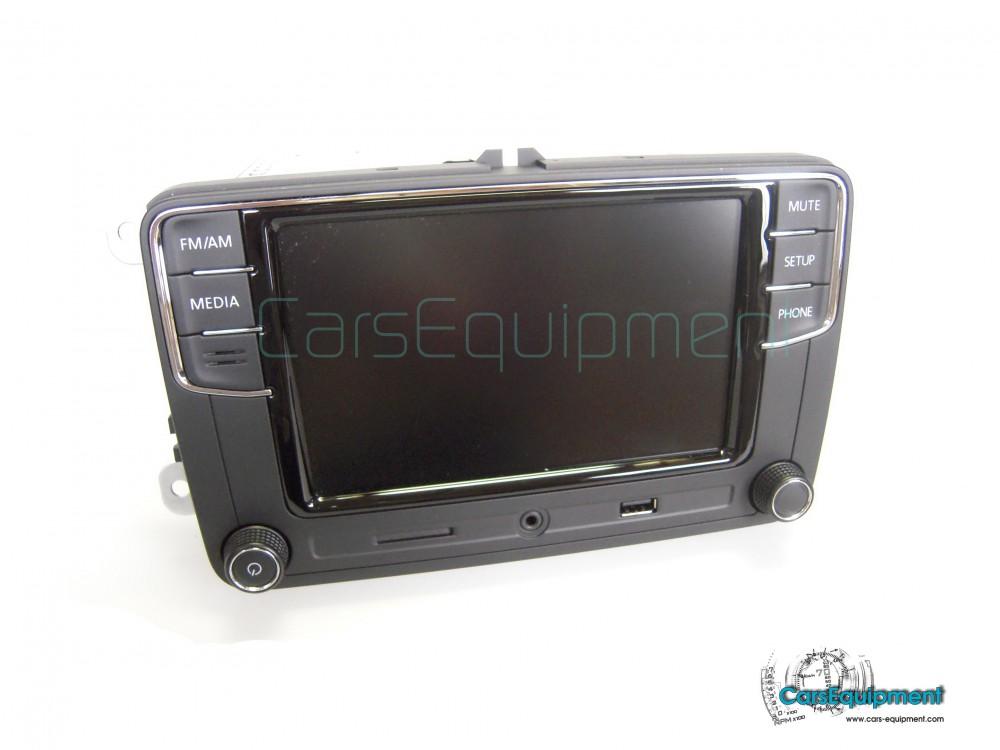 Oem 6rd035187a Mib Car Radio 65inch For Vw Model Rcd330g