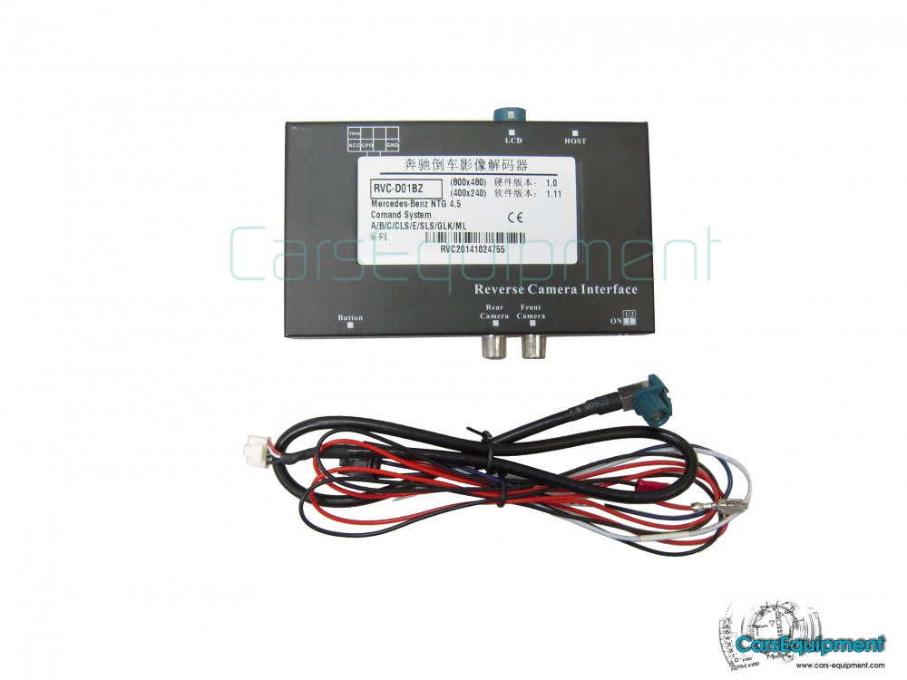 RVC Camera Interface for Mercedes Benz - Front + Rear Camera