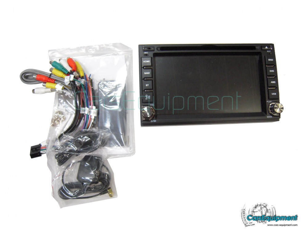 2Din 6 2inch Touch Screen RDS Universal Nissan Navigation