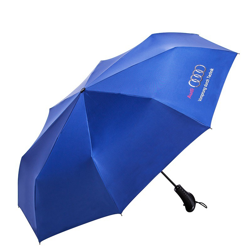 Audi Umbrella Blue Black For Merchandise - Audi umbrella