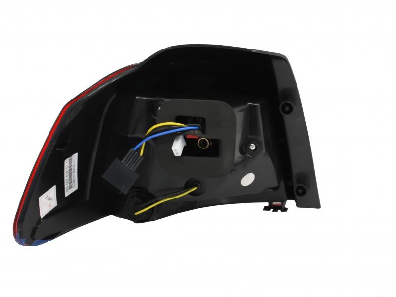 Led Taillights For Vw Golf 6 R Line R20 Design Smoke