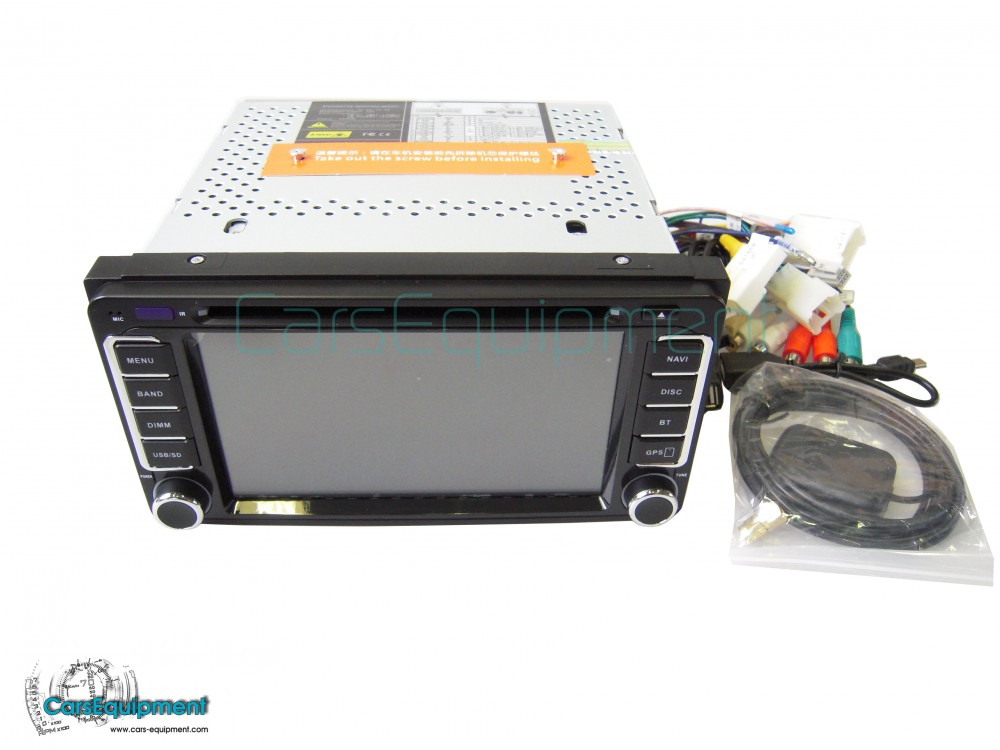 Touch Screen Navigation with Bluetooth for Toyota Corolla