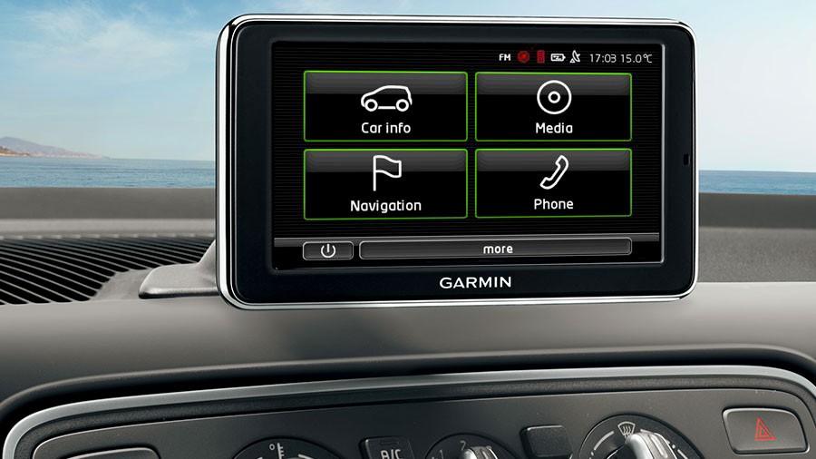 OEM 1ST051235E Touch Screen Navigation Skoda Citigo - Garmin