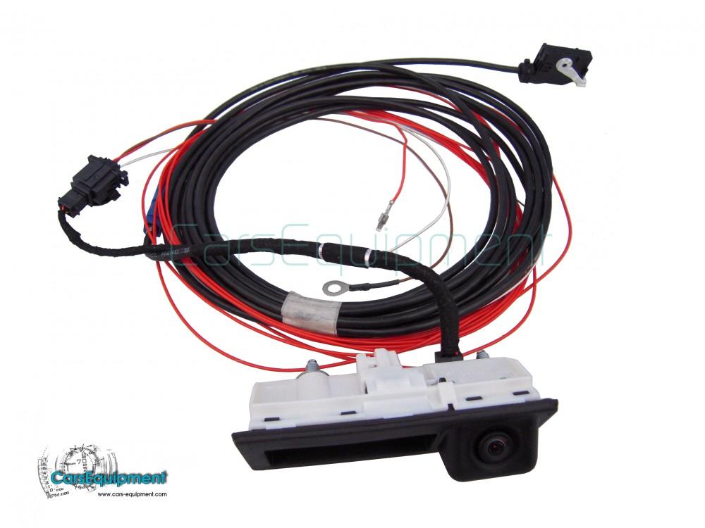 OEM Rear View Handle Camera Kit for RNS510, RCD510, RNS315