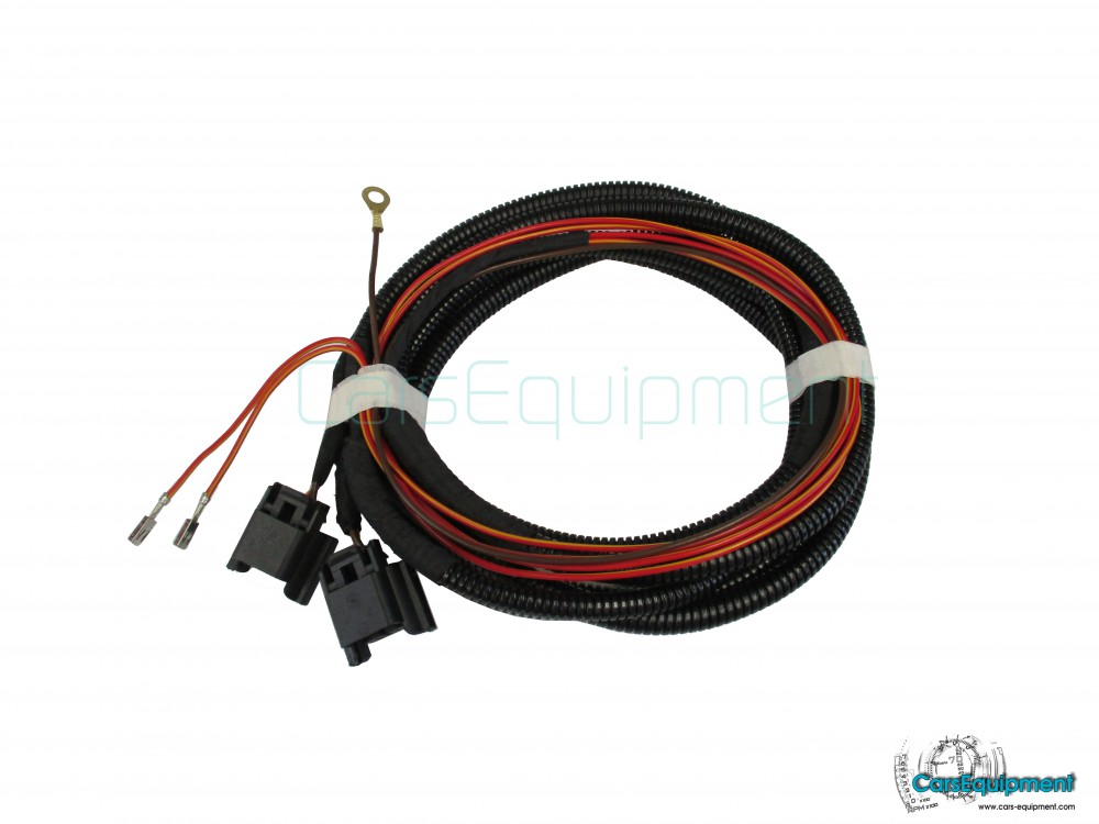 Oem Wiring Harness Cable For Fog Lights Vw Golf 7 Octavia 3 Rhcarsequipment: Vw Fog Light Wiring Harness At Gmaili.net