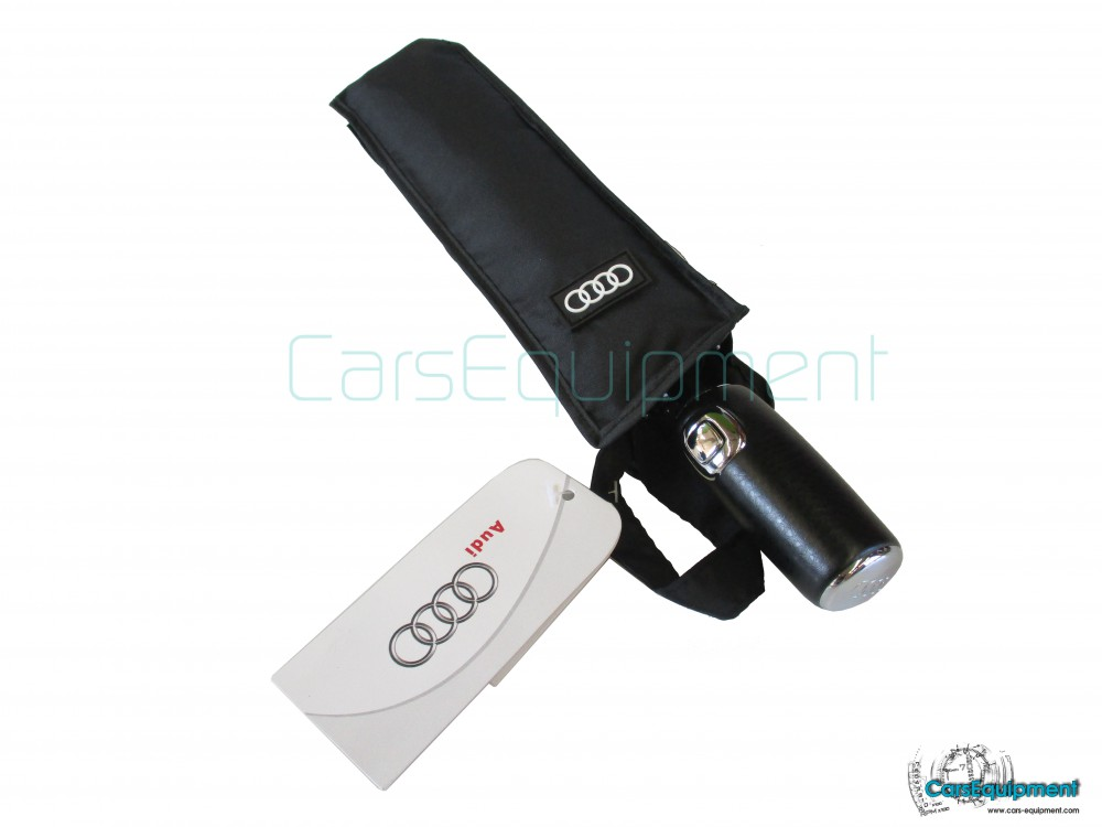 Umbrella Audi Black Blue For Merchandise - Audi umbrella