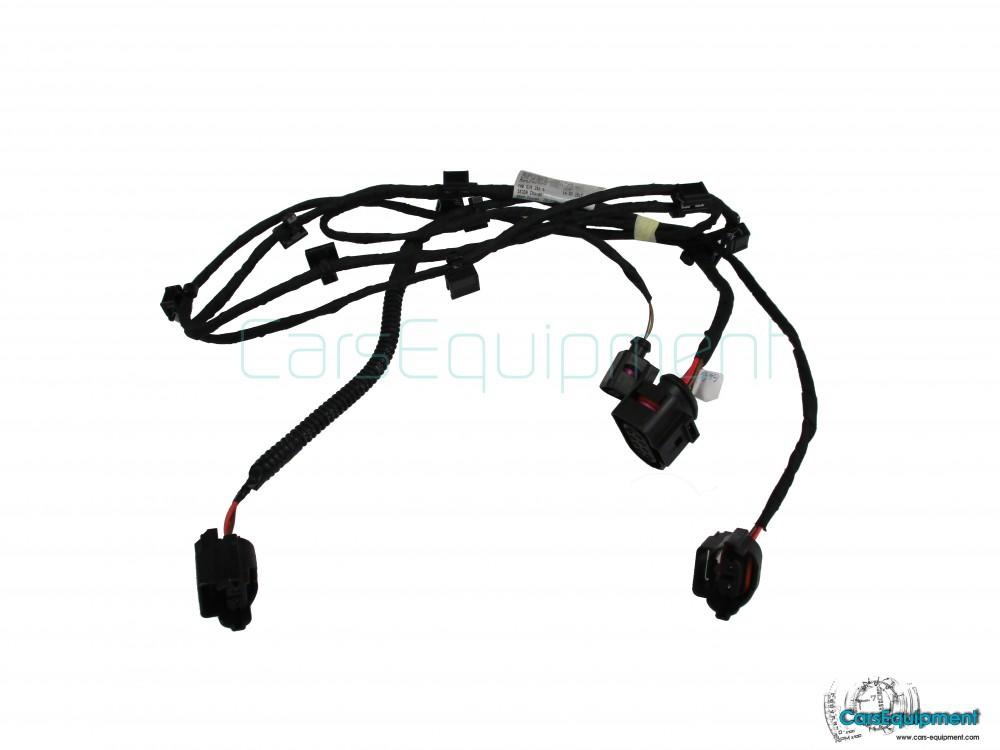 oem 5e0971095dc front bumper drl fog lights wiring skoda. Black Bedroom Furniture Sets. Home Design Ideas