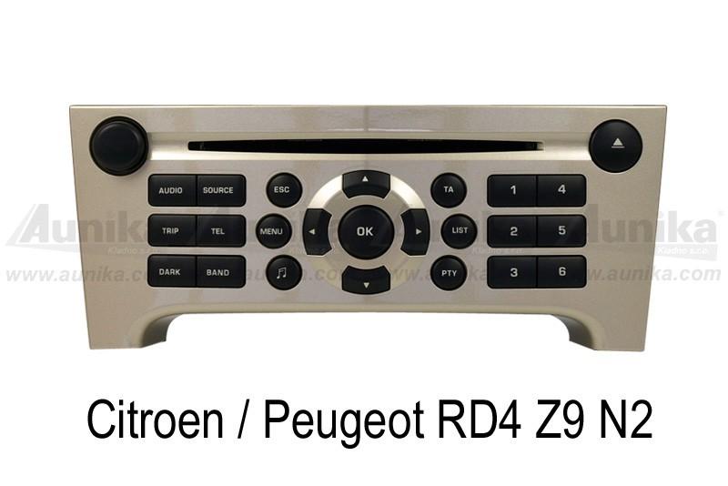 Bluetooth Adapter A2DP Citroen / Peugeot RD4 for 47 60