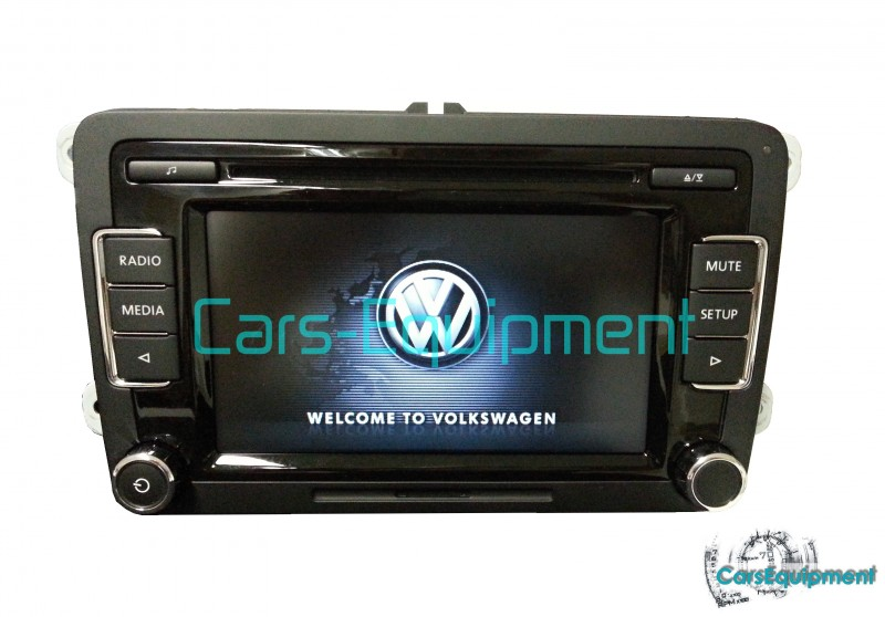OEM VW RCD510 56D035190A 2DIN touch screen car radio made by Delphi ... 7697052414