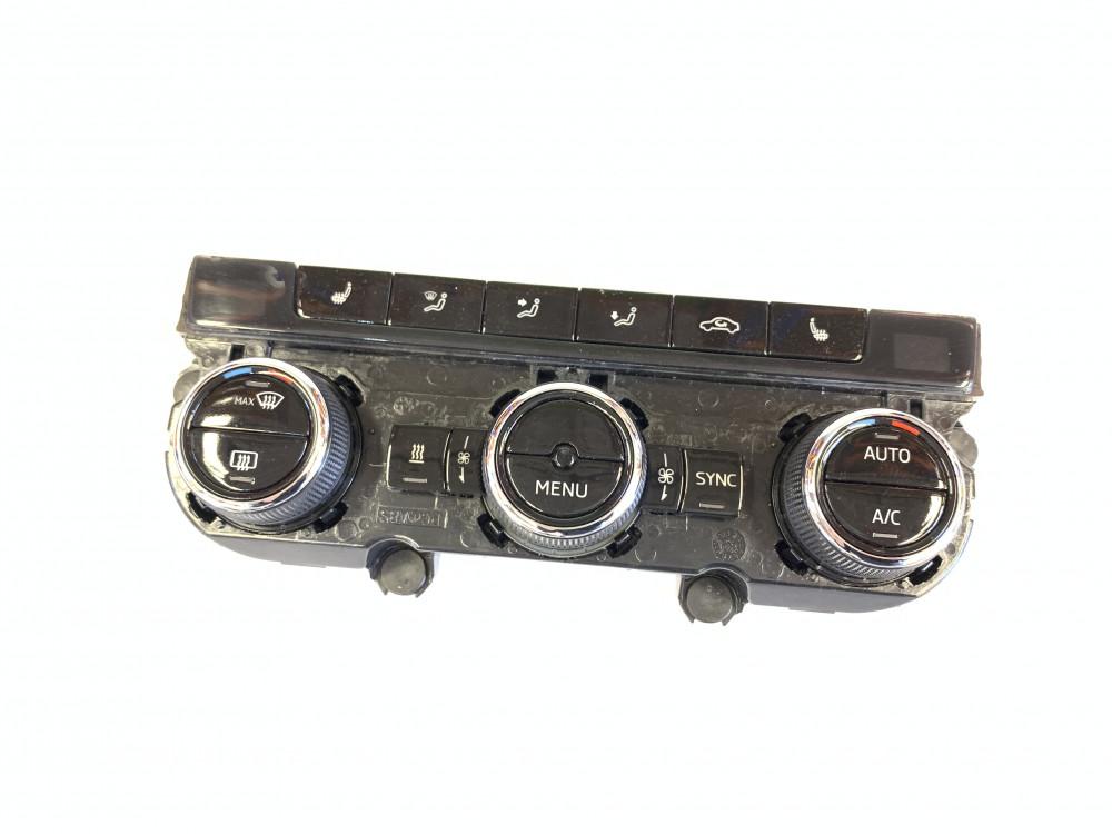 OEM 5E0907044AL Climatronic Panel Skoda Octavia 3 facelift - 5E